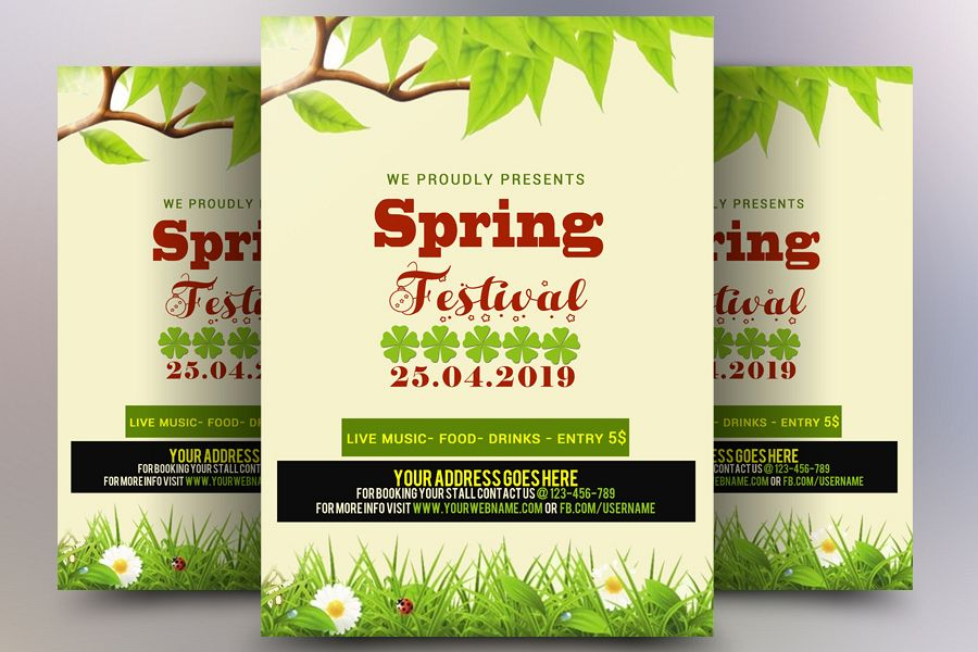 Spring Festival Flyer example image 1