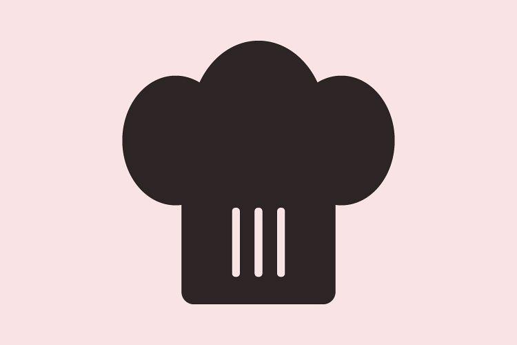 Chef hats icon example image 1