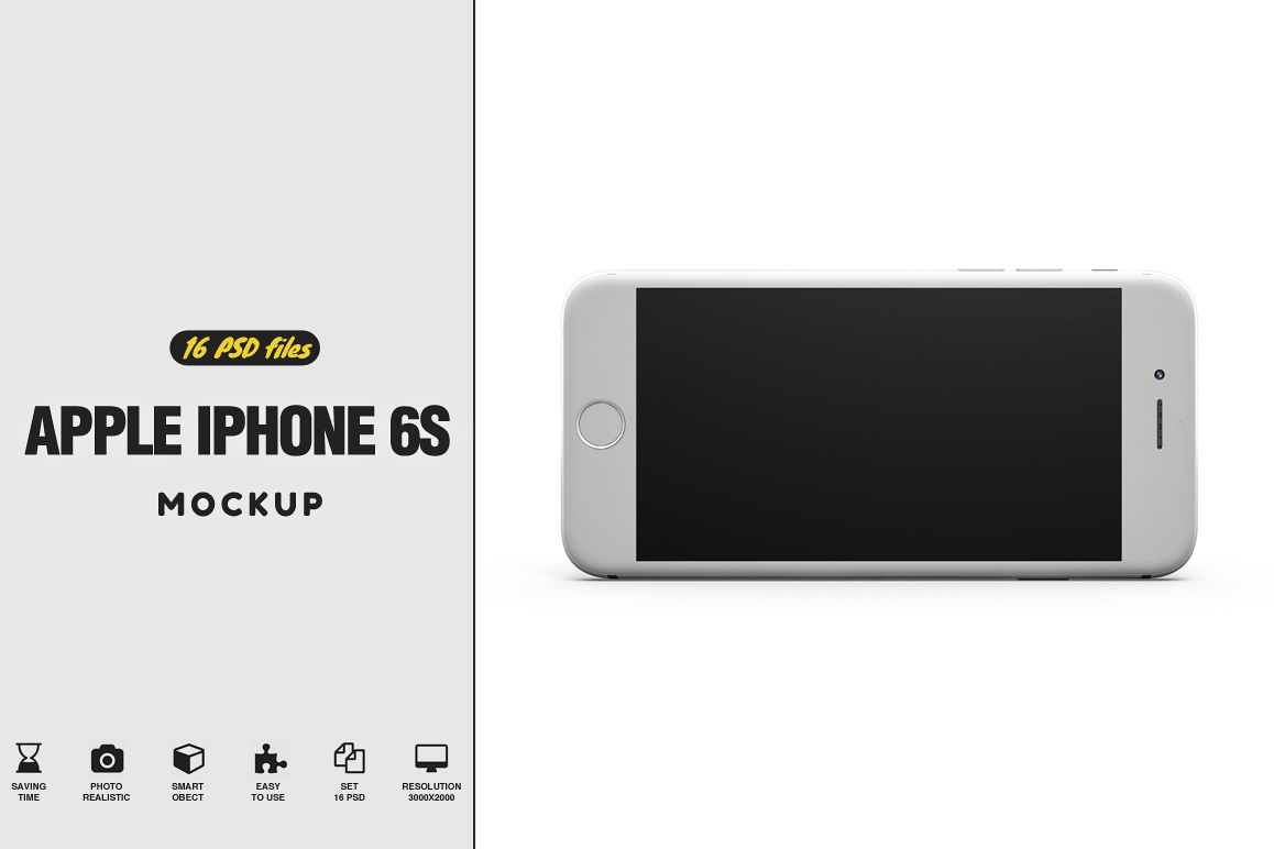 Apple iPhone 6s MockUp example image 1