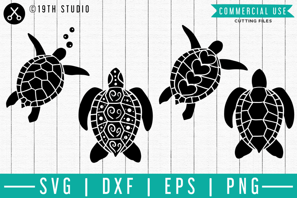 Sea turtle SVG| SF | EPS PNG DXF SVG