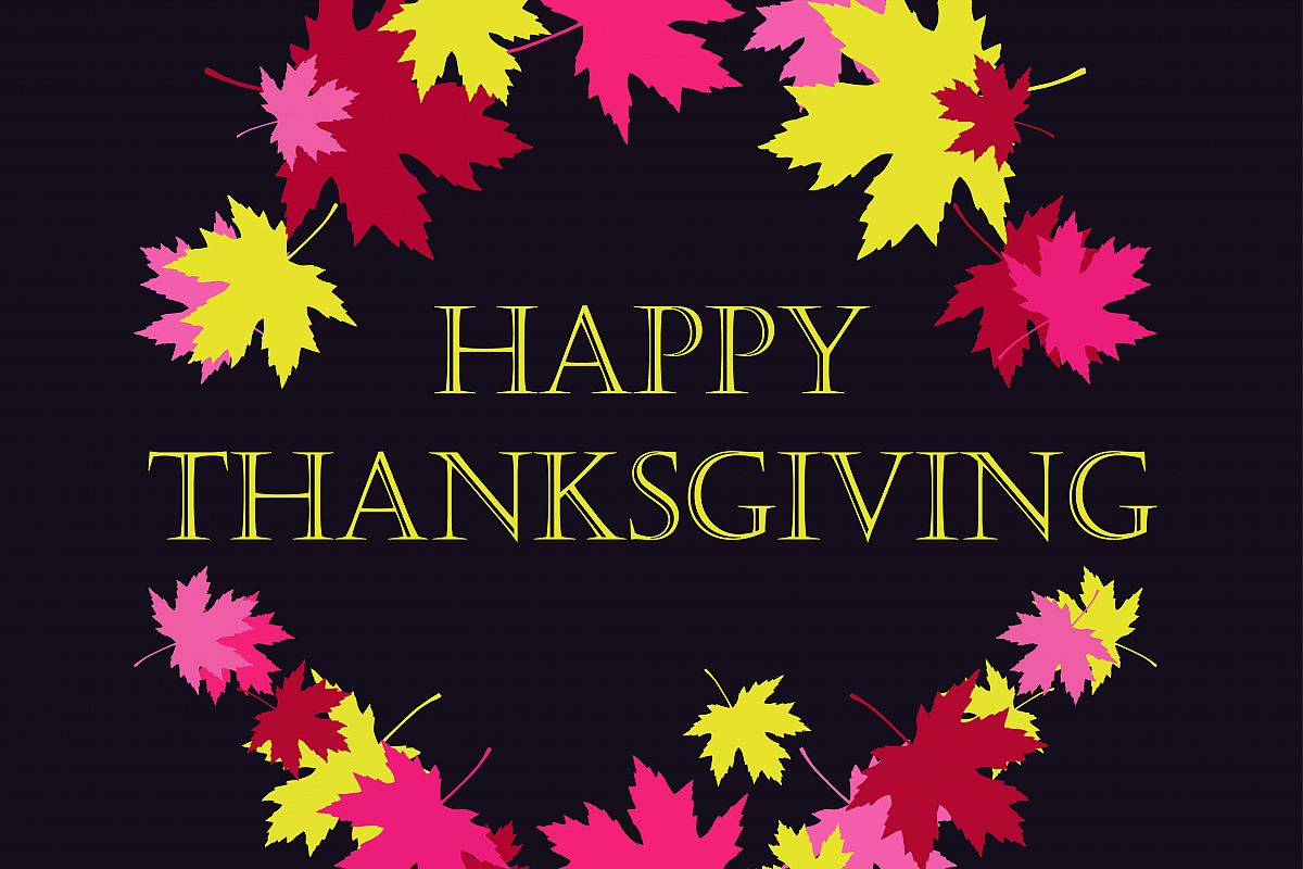 Thanksgiving Day card template.  example image 1