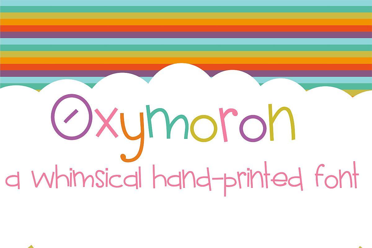 PN Oxymoron example image 1