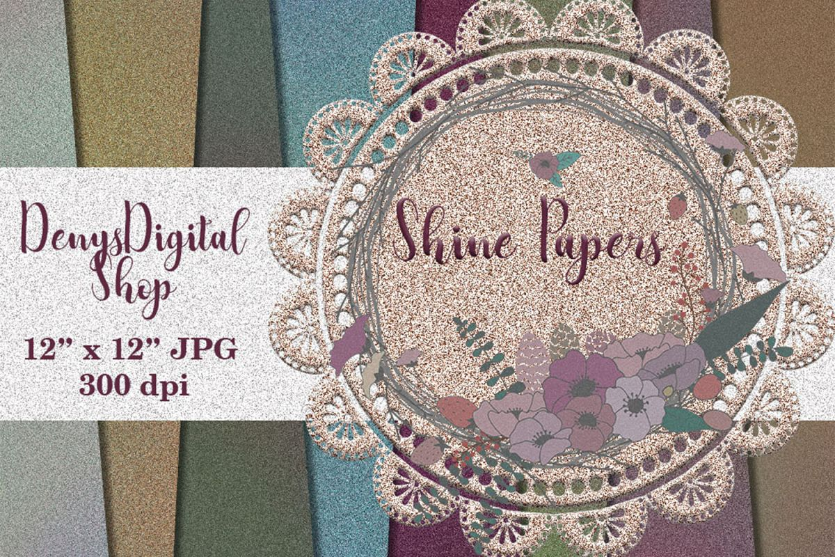 Shine Color Pattern, Color Textures, Color Digital, sale example image 1