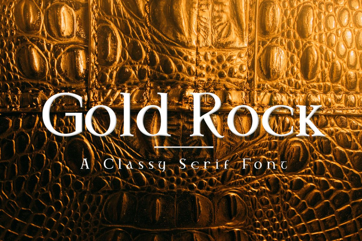 Gold Rock example image 1
