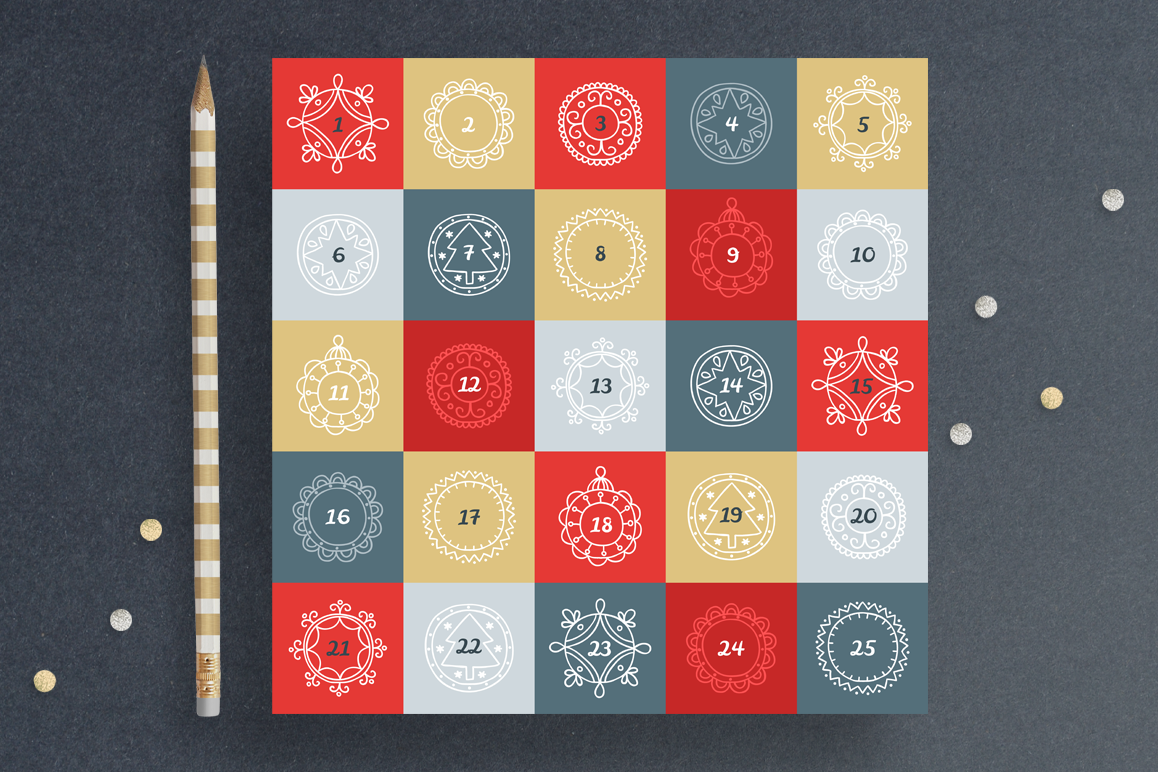 Christmas Advent Calendar example image 1