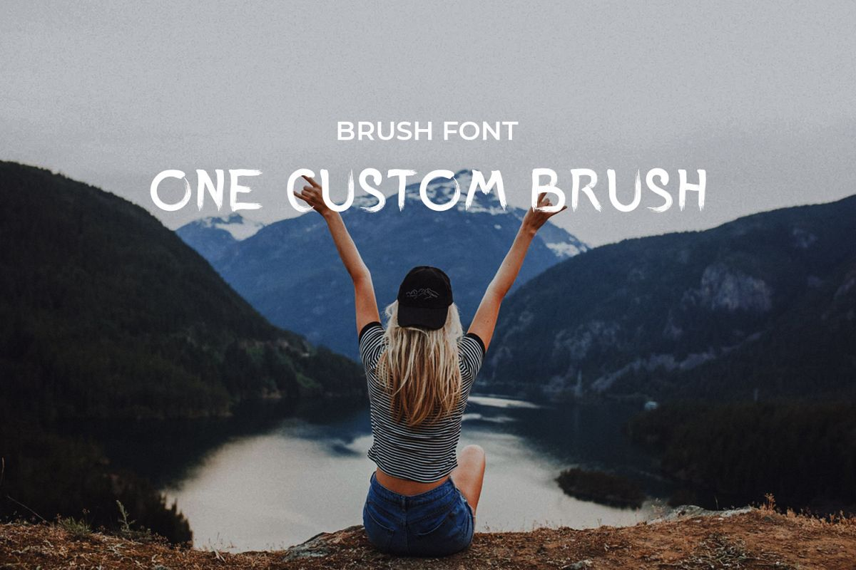 One Custom Brush example image 1