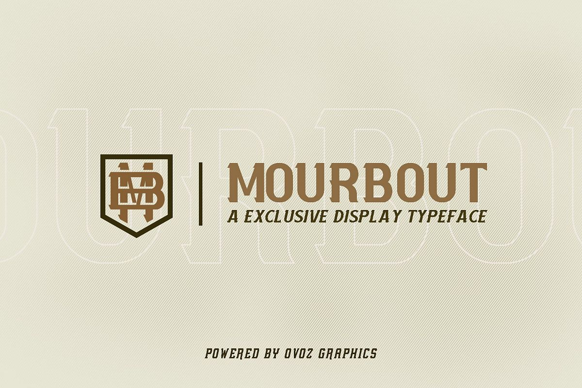 Mourbout - NFC Font Family example image 1