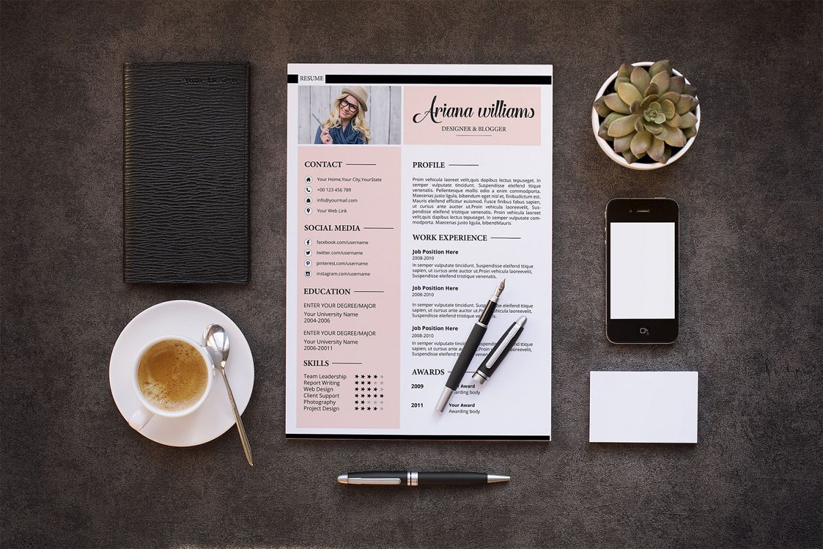 Professional Resume | Cv Template example image 1