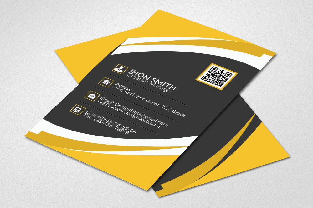 Creative Business Card Design example image 1