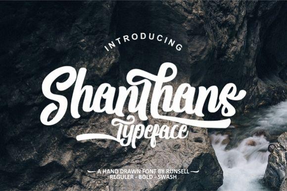 Shanthans Typeface example image 1