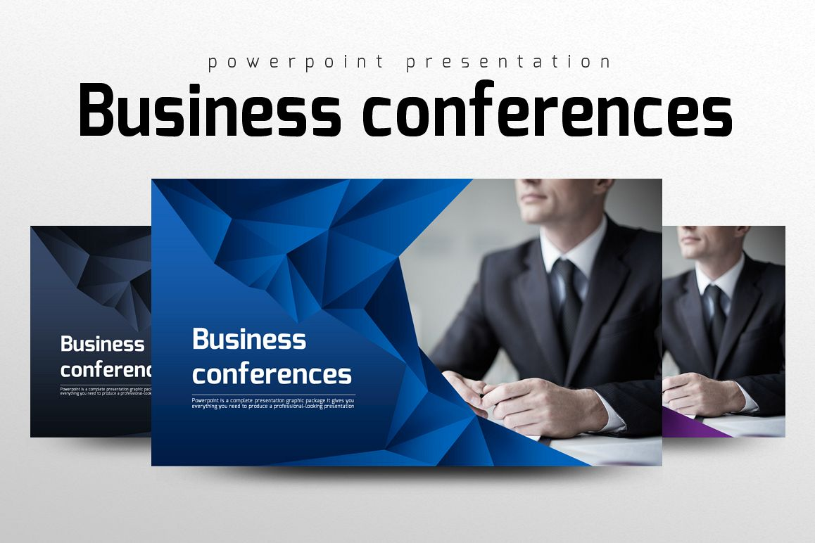 Conference Presentation Template example image 1
