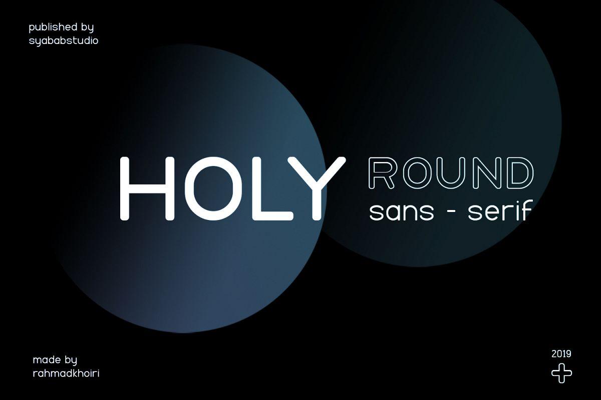 Holy Sans Serif Font example image 1