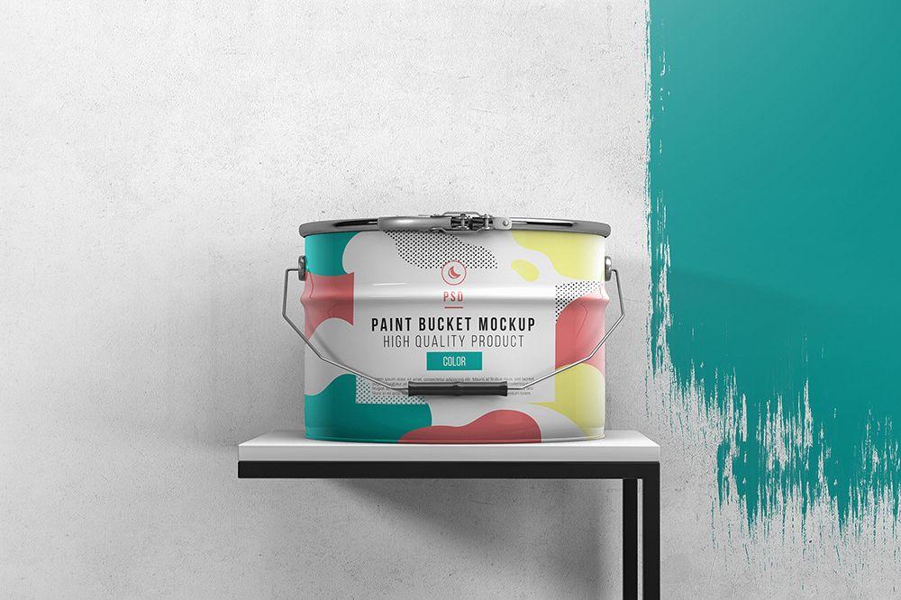 Paint Bucket Mockup example image 1