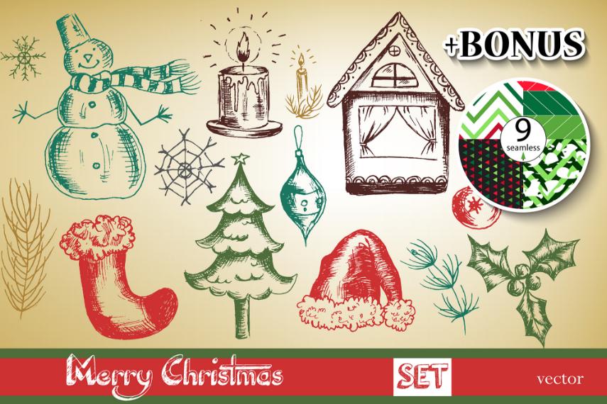 BIG Merry Christmas set. example image 1