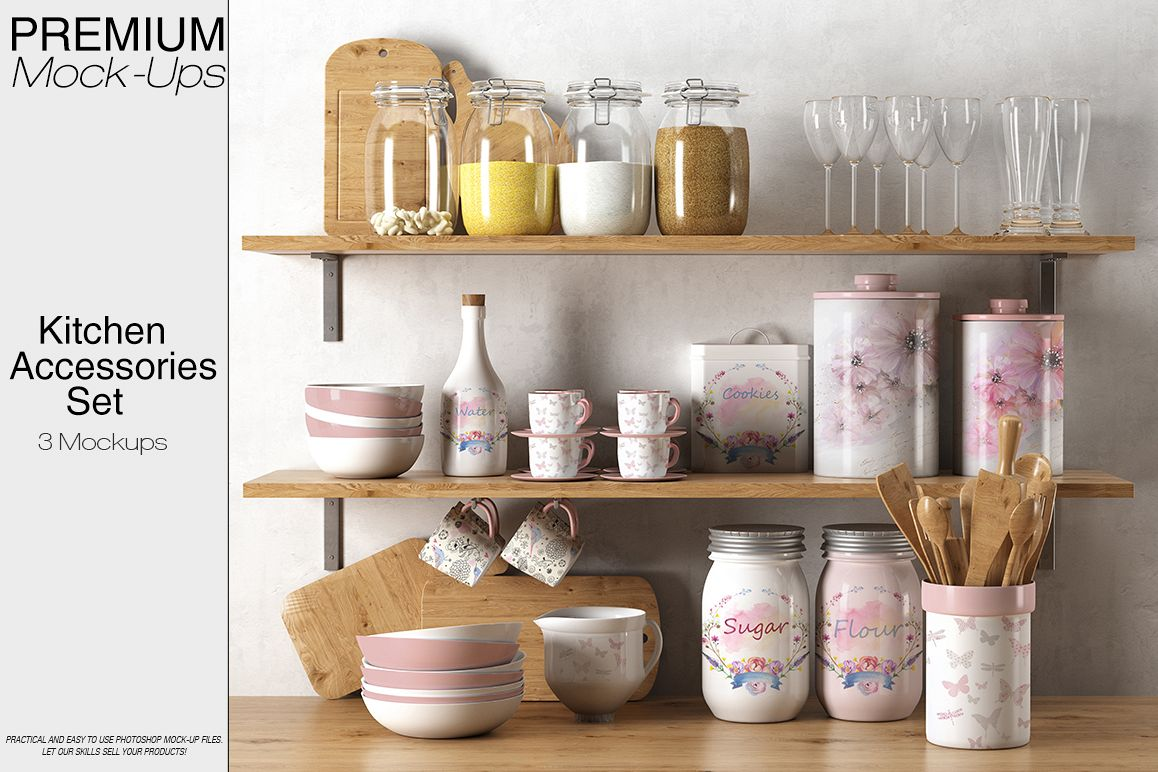 Kitchen Accessories Set example image 1