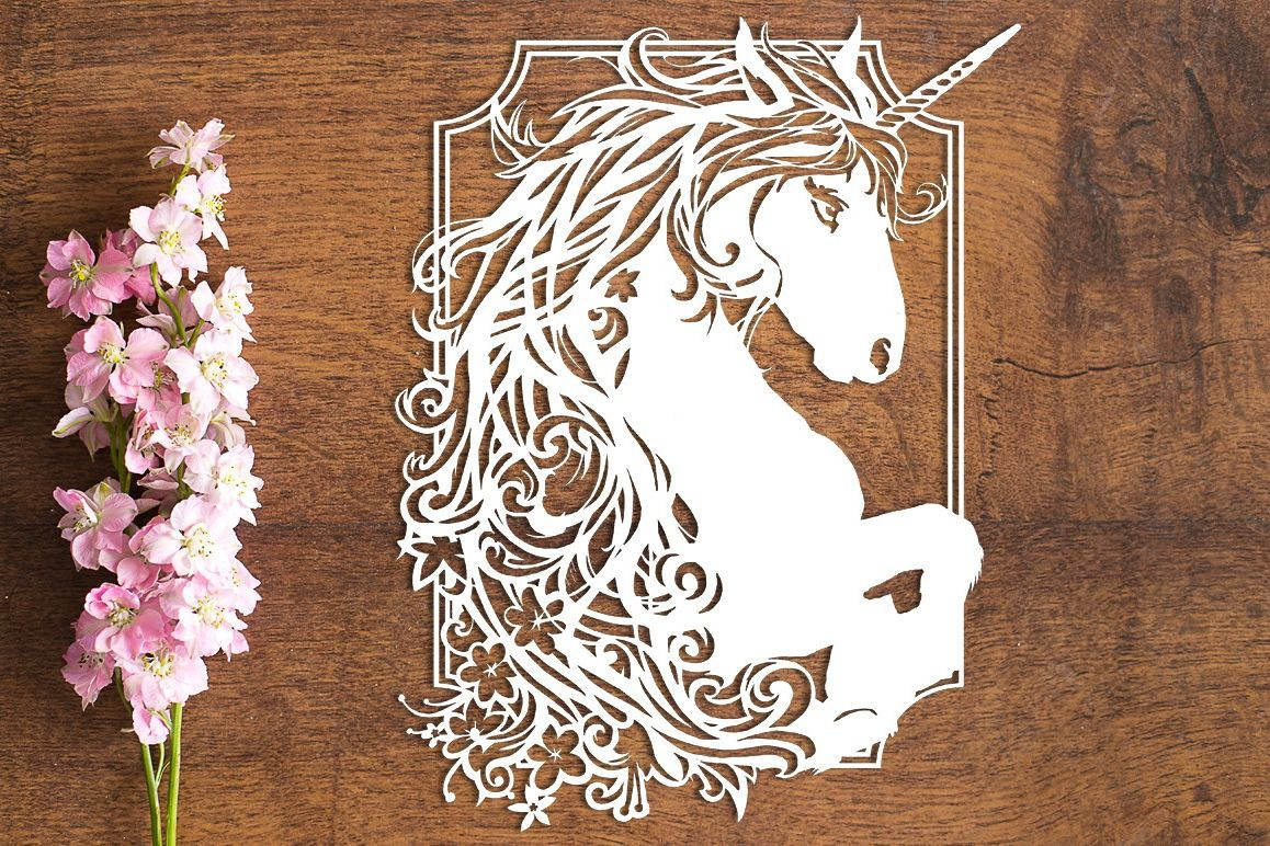 Exuberance - Paper Cutting Template example image 1