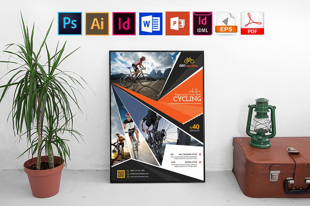 Poster   Cycle Shop Vol-03 example image 1