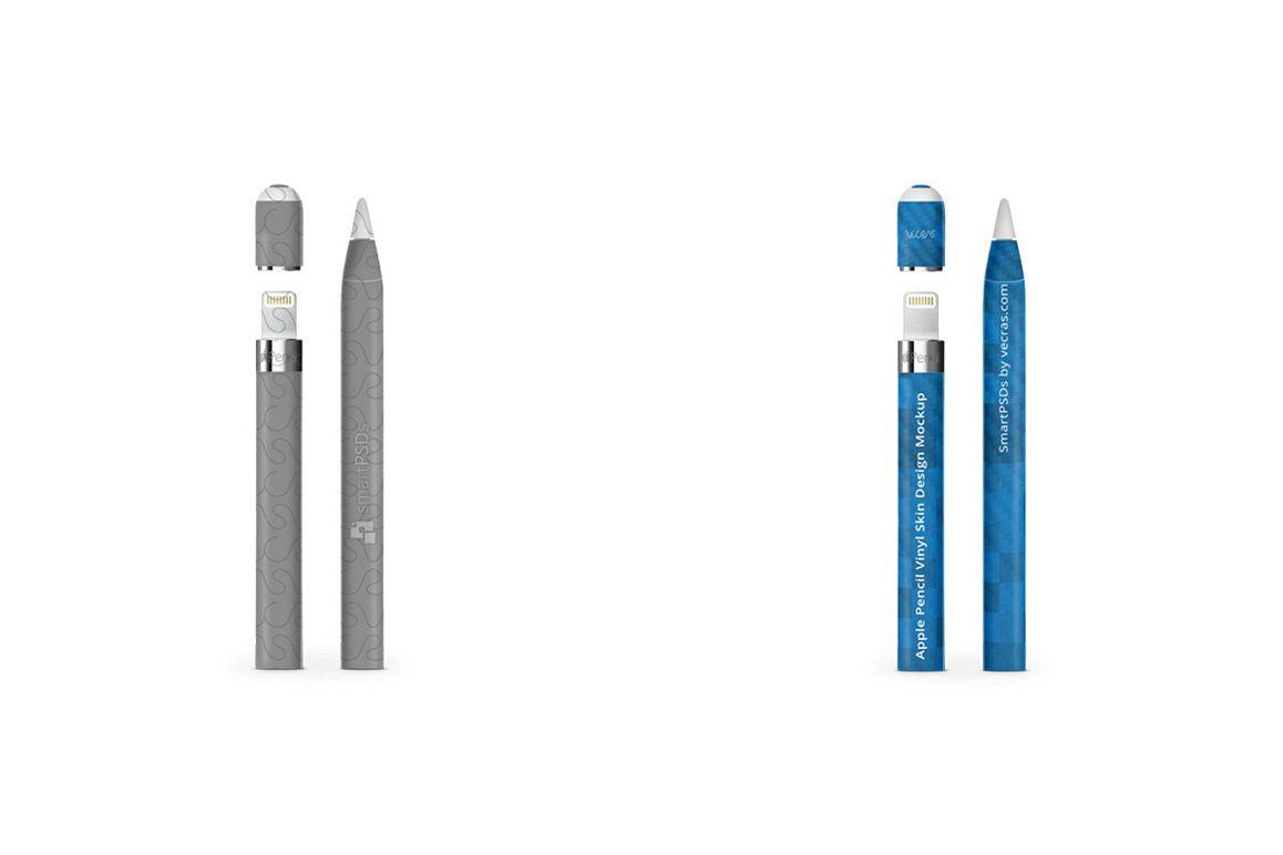 Apple Pencil for iPad Pro Vinyl Skin Design Mockup example image 1