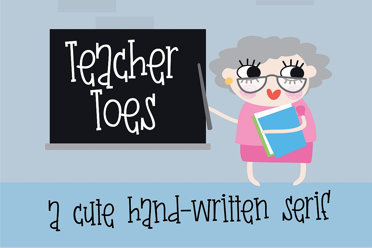 PN Teacher Toes example image 1
