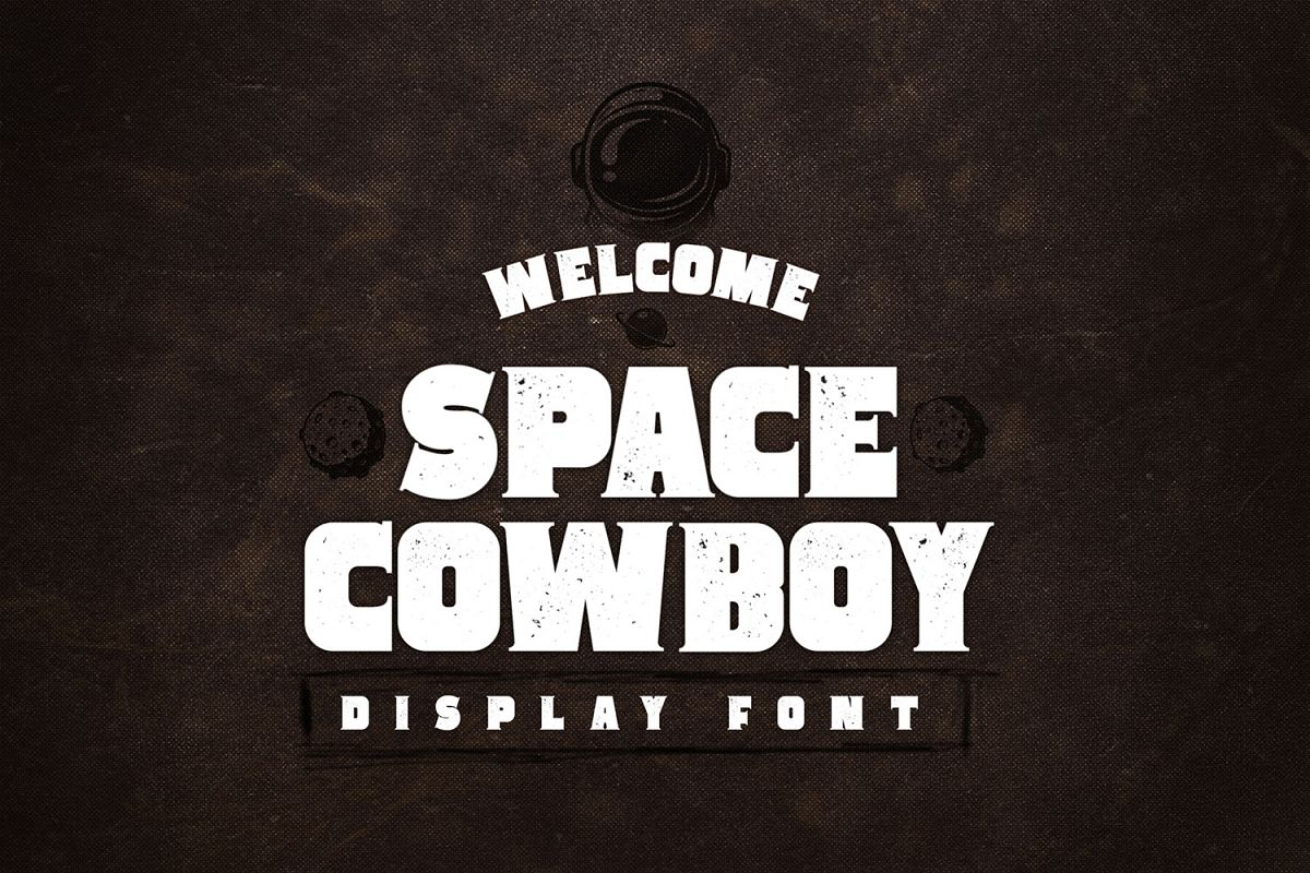 Space Cowboy - Display Serif Font example image 1