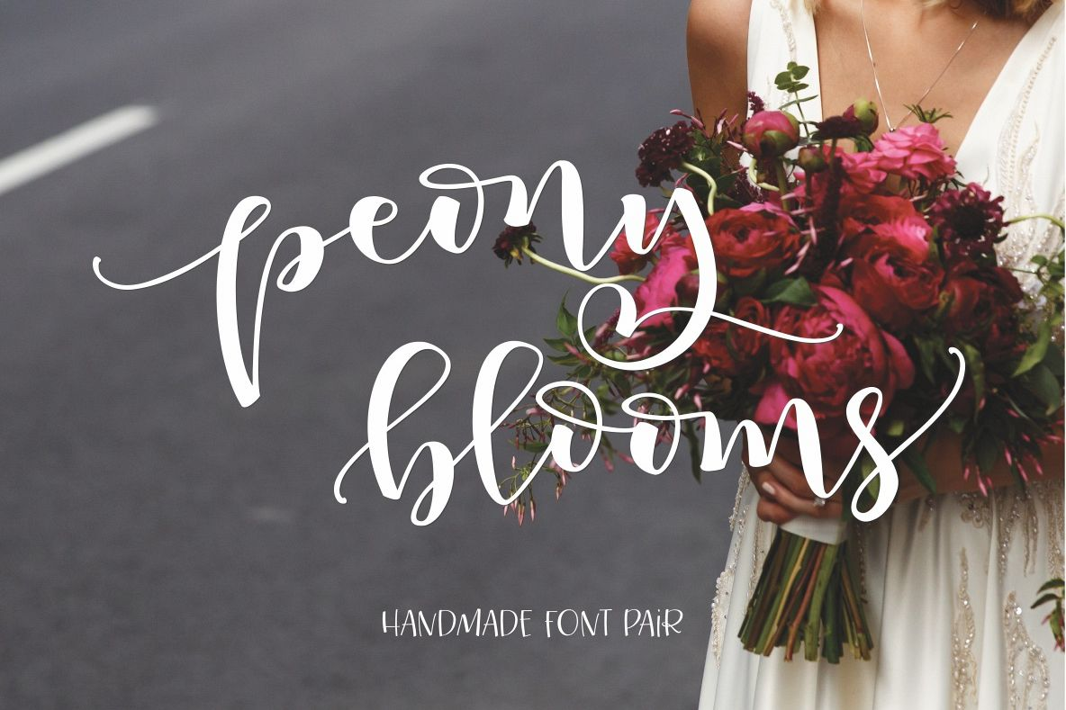 Peony Blooms example image 1