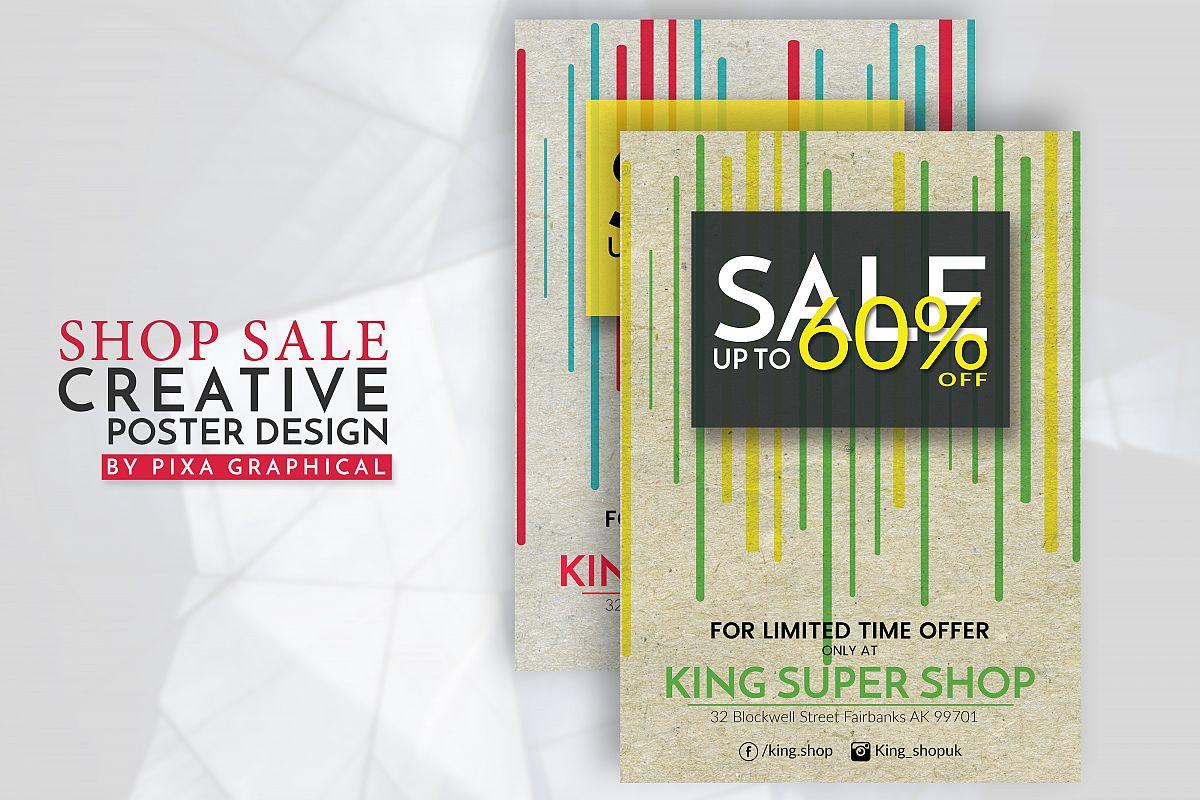 Shop Sale Flyer Design example image 1