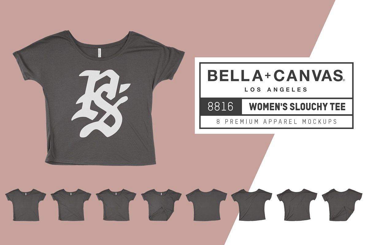 Bella Canvas 8816 Women's Slouchy T example image 1