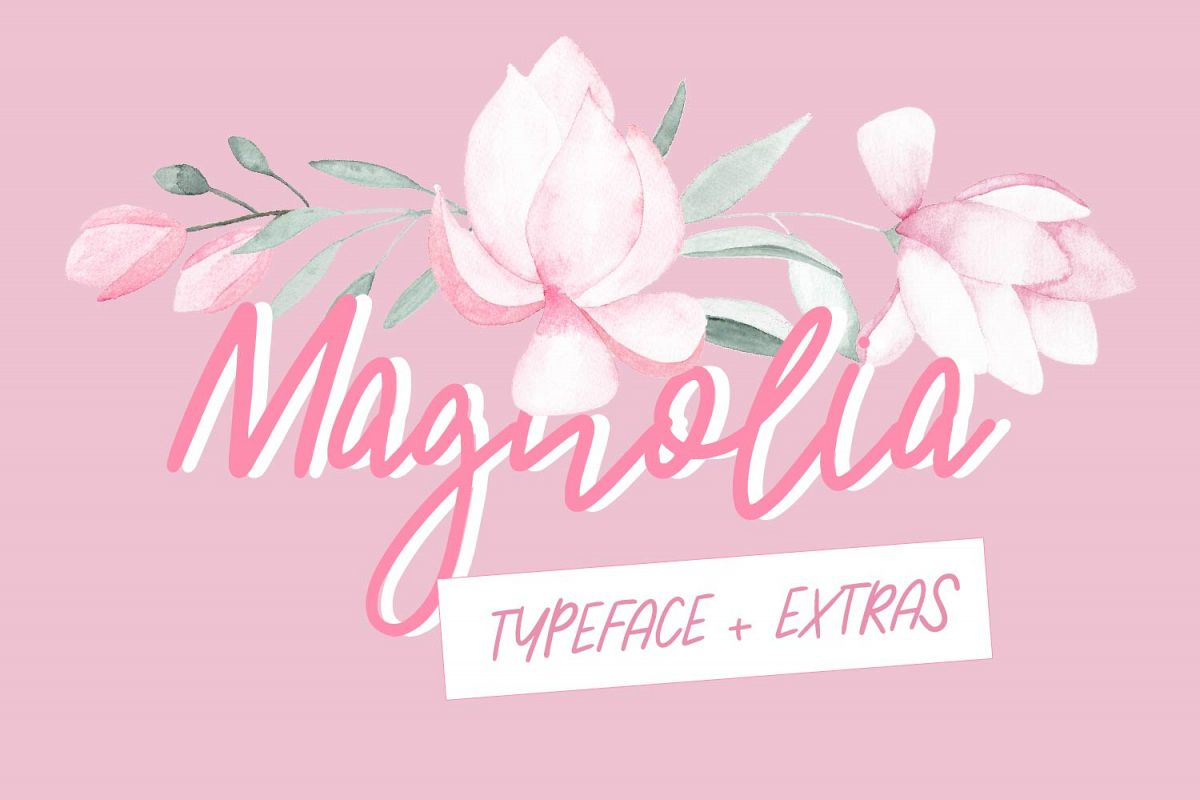 Magnolia Typeface example image 1