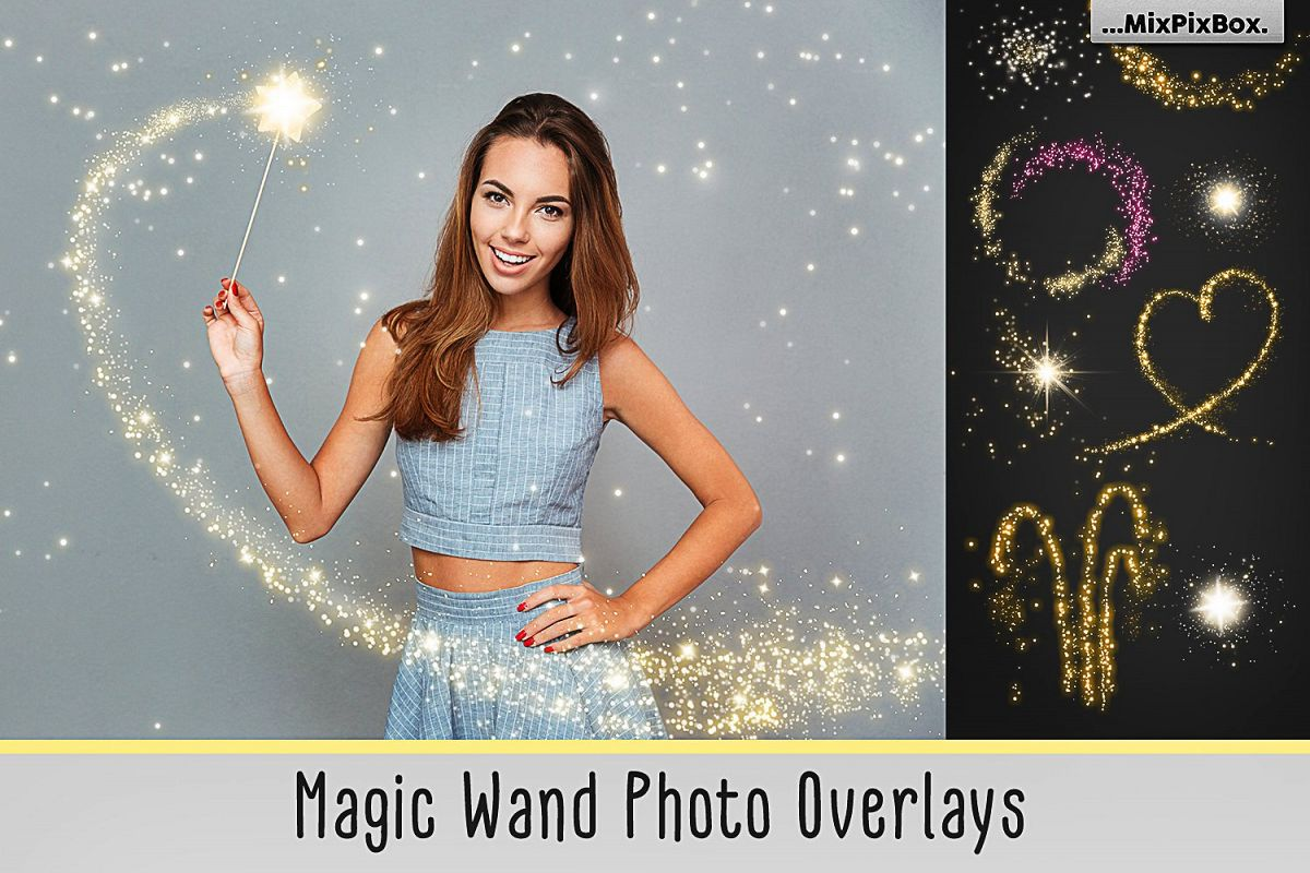 Magic Wand Photo Overlays example image 1