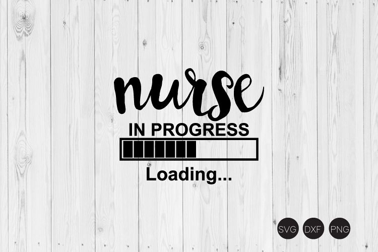 Nurse In Progress Loading SVG example image 1