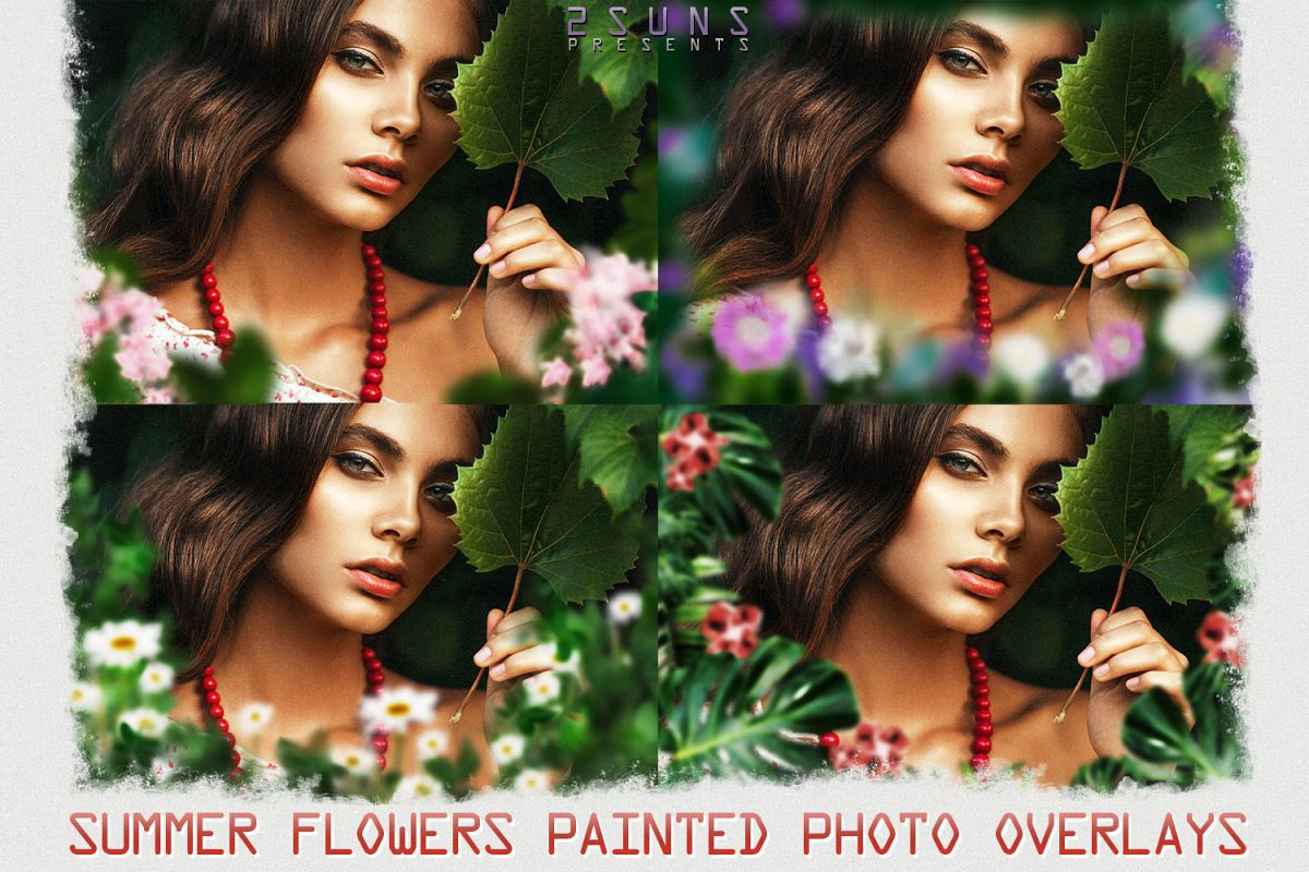 Summer overlays templates frames textures backdrop wedding example image 1