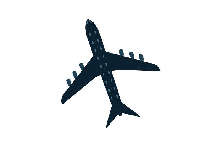Plane icon example image 1