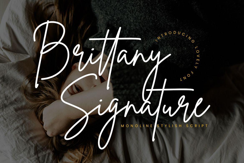 Brittany Signature Script example image 1