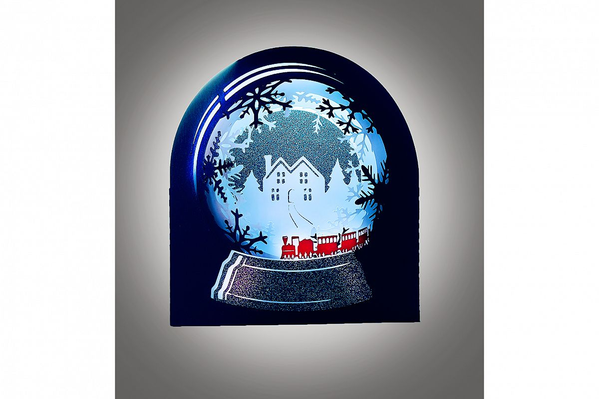 Snow Globe Winter wonderland Train example image 1