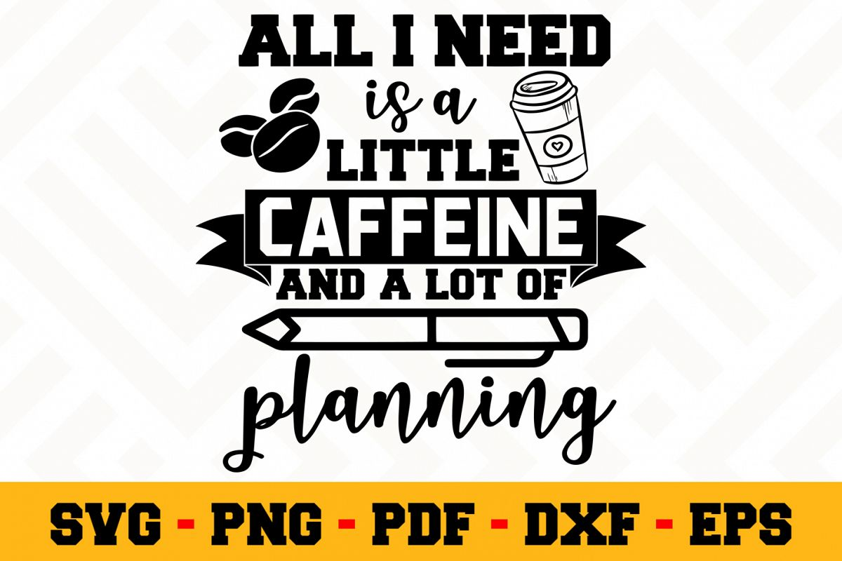 Planning SVG Design n499 | Planning SVG Planner File example image 1
