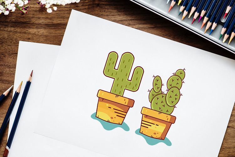 Cactus Ilustrations example image 1