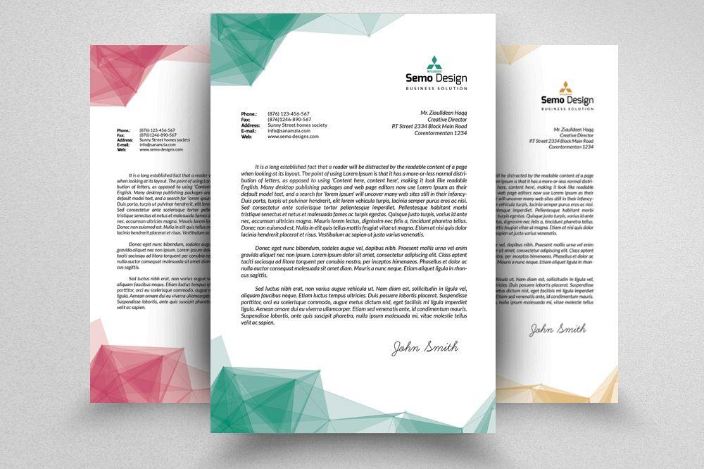 Business Letterheads editable File example image 1