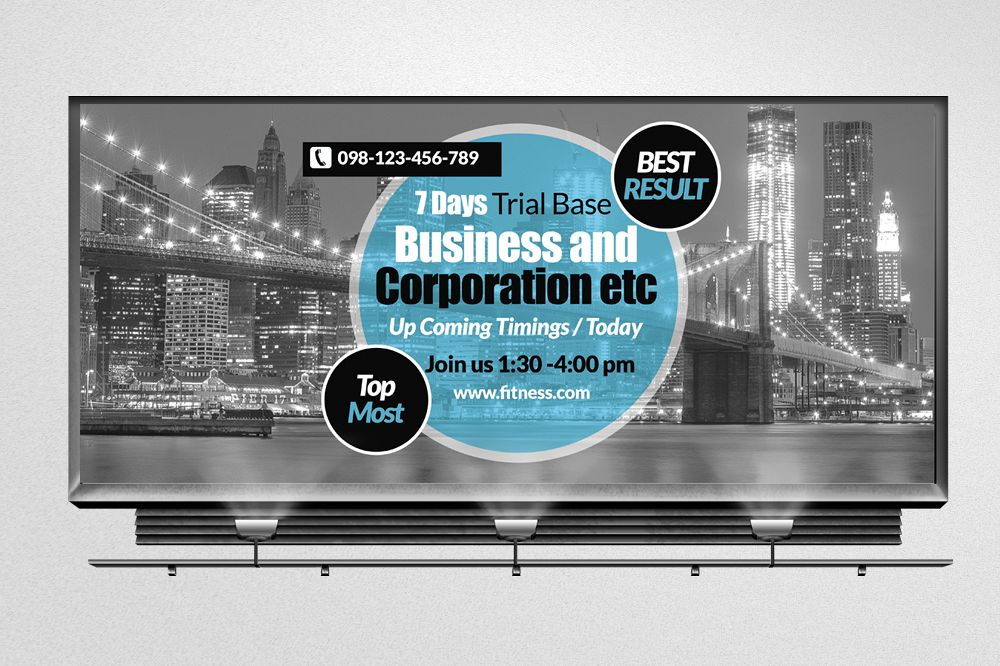 Multi Use Business Billboard Banners example image 1