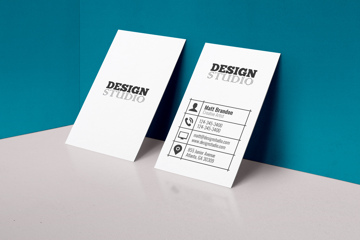 Classic Business Card example image 1