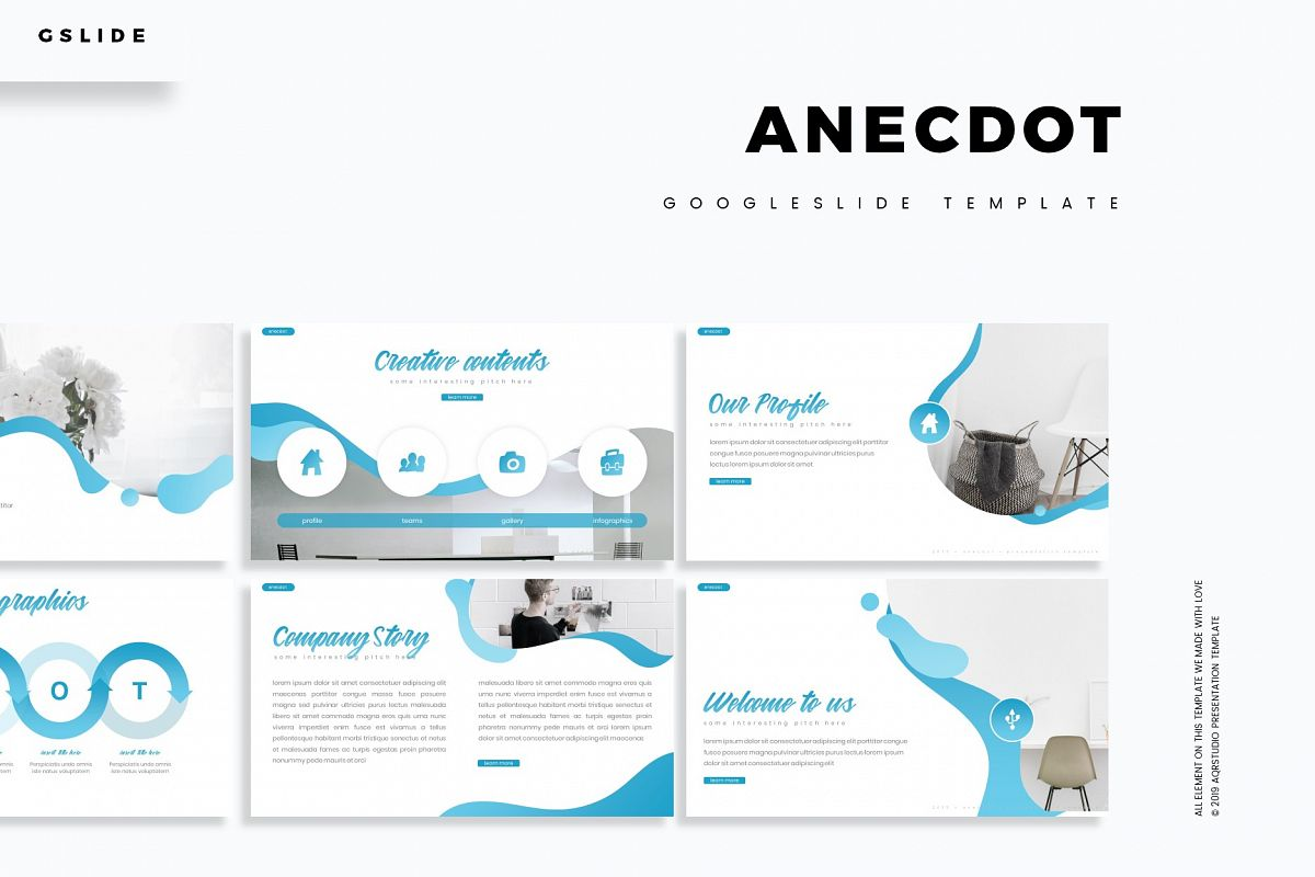 Anecdot - Google Slide Template
