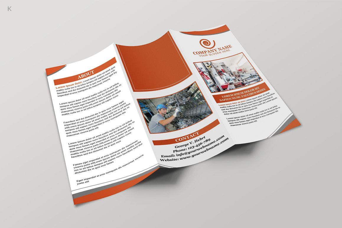 Industerial Trifold example image 1