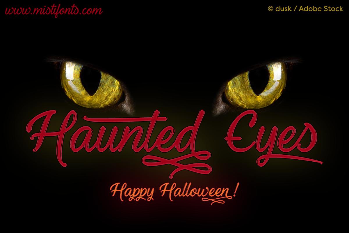 Haunted Eyes example image 1