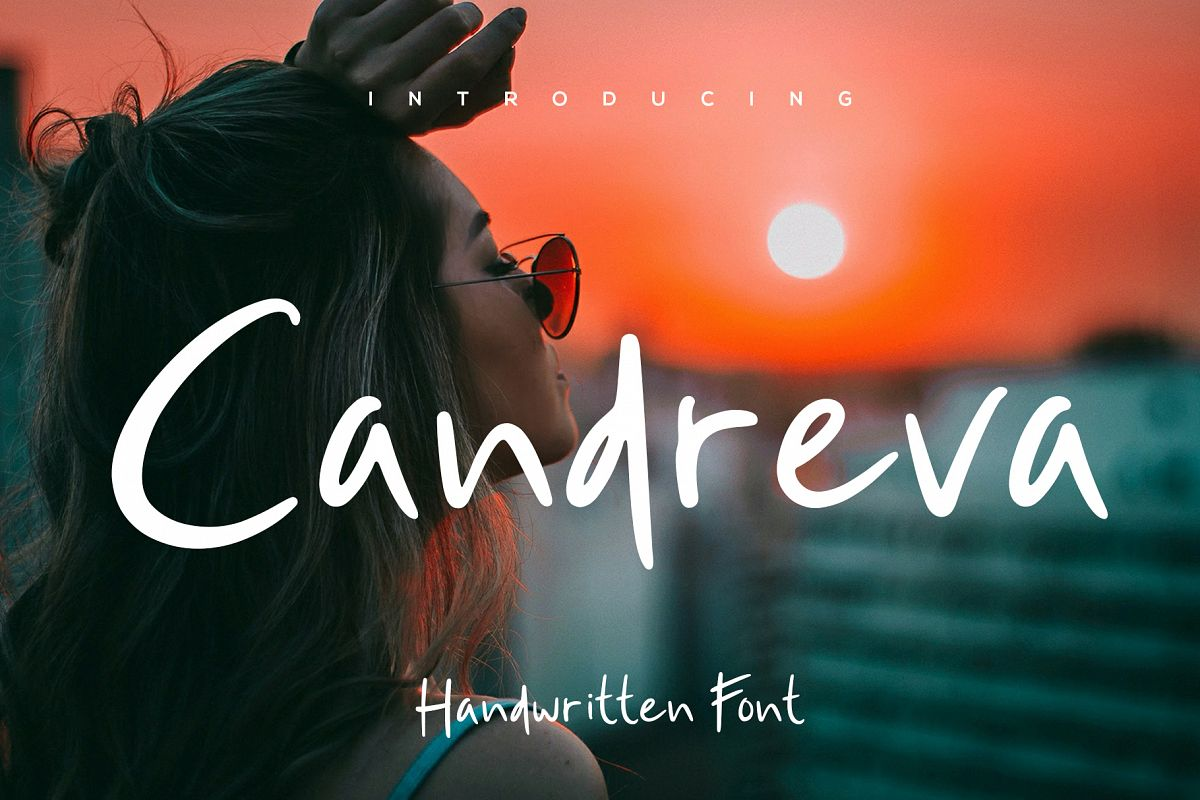 Candreva Font example image 1