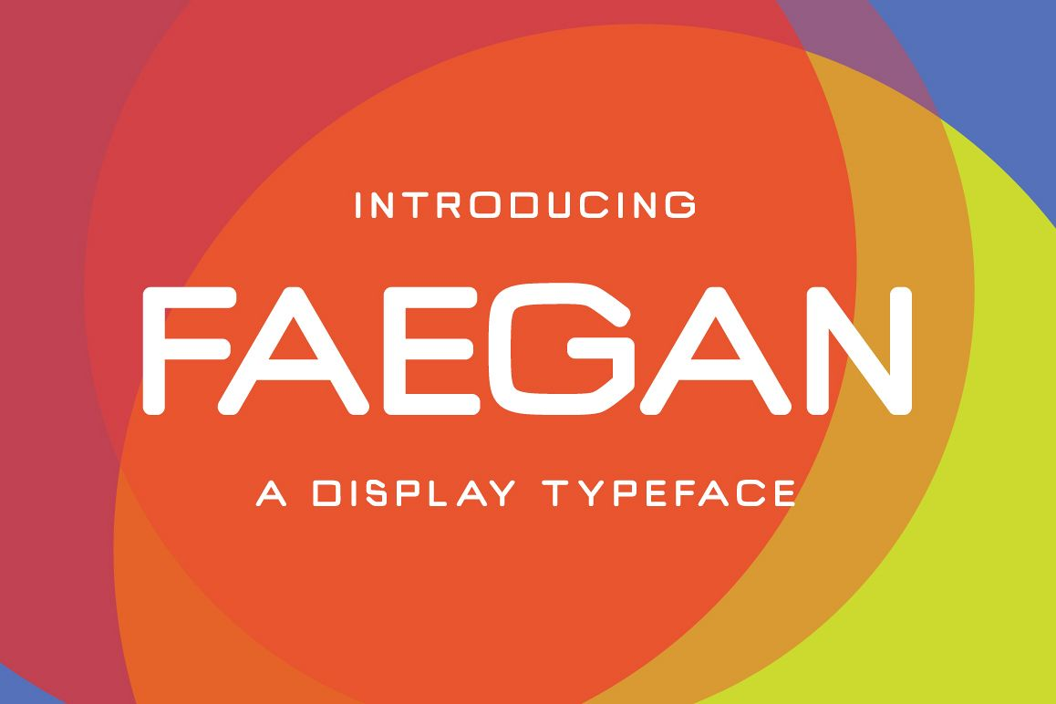 Faegan Typeface example image 1