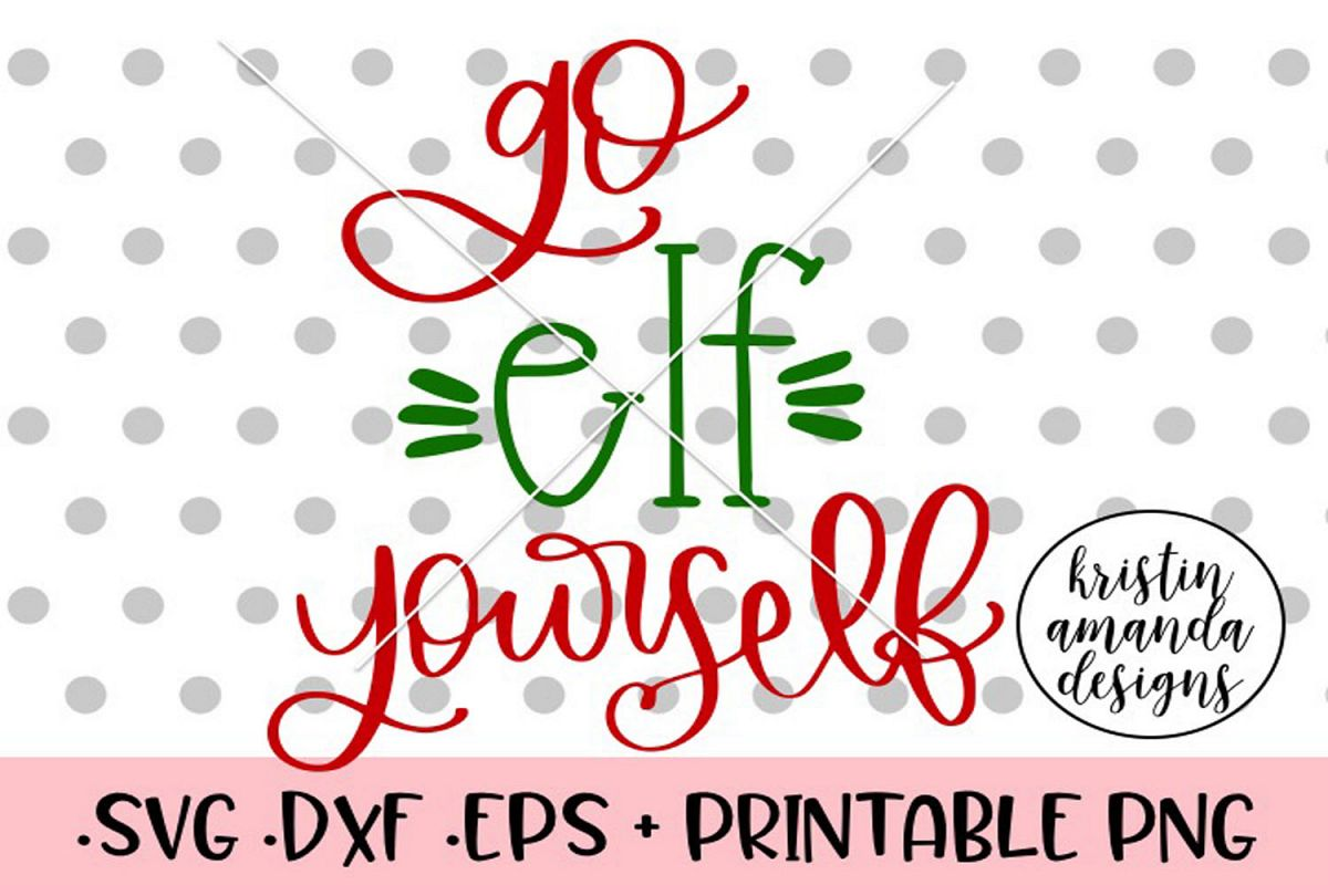 photo about Elf Yourself Printable named Move Elf On your own Xmas SVG DXF PNG EPS Slash Record Silhouett