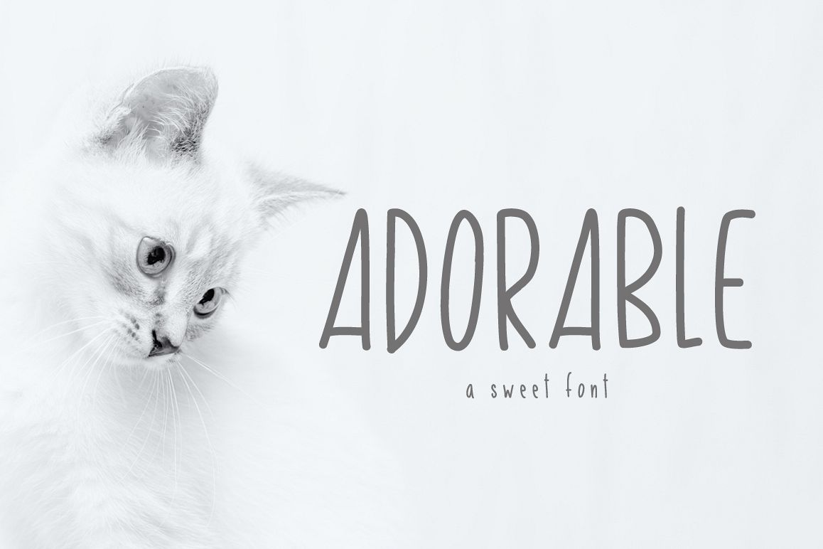 Adorable Skinny Font example image 1