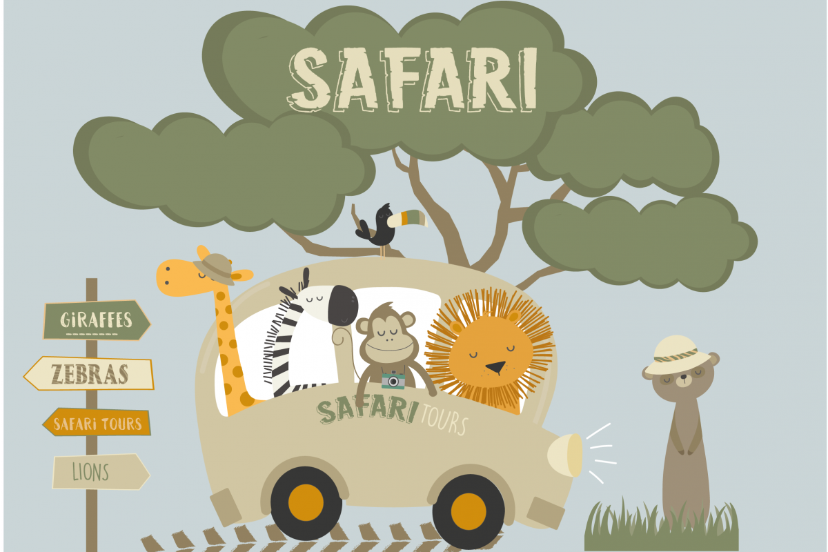 Safari tours set example image 1