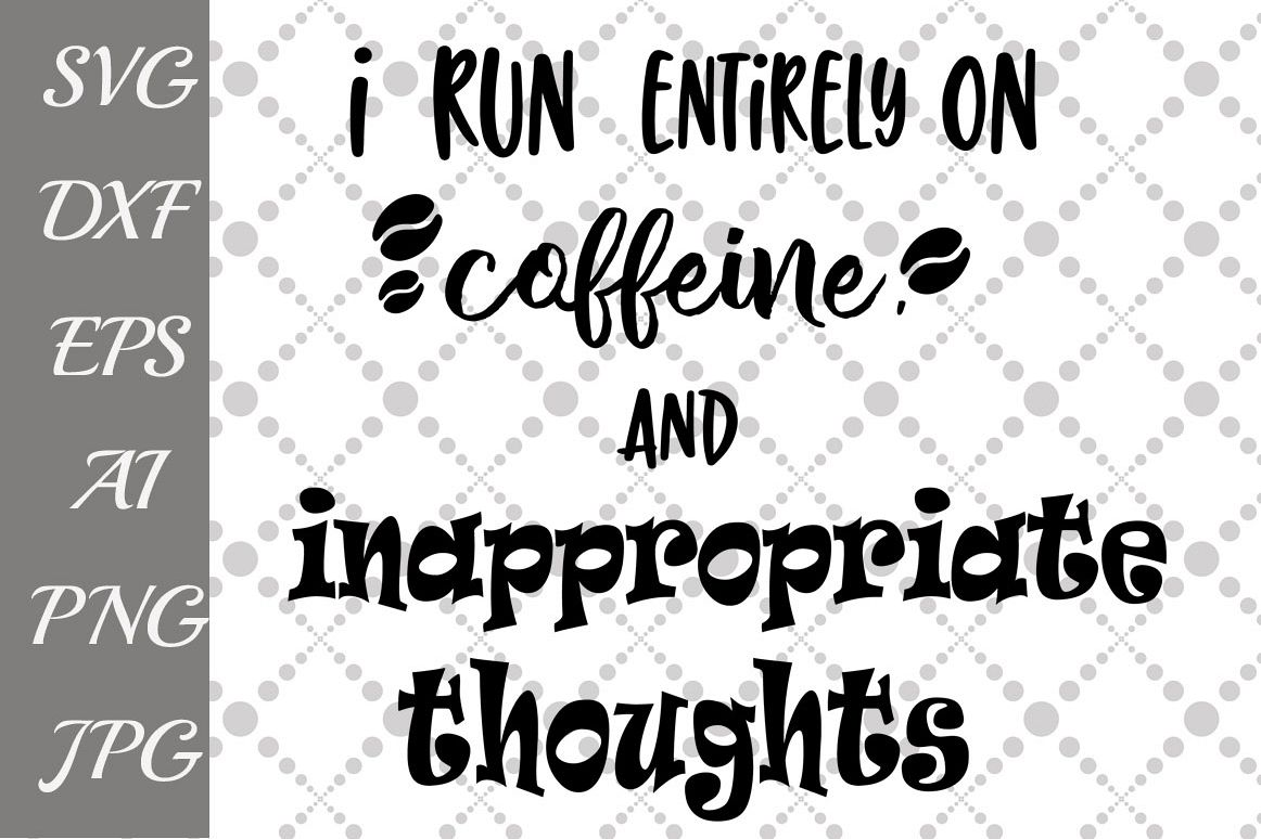 Run on Caffeine Svg example image 1