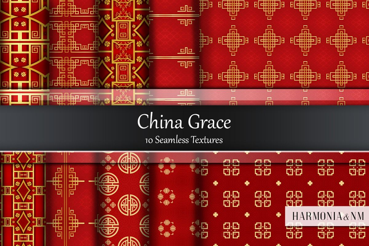 China Grace 10 Seamless Textures example image 1