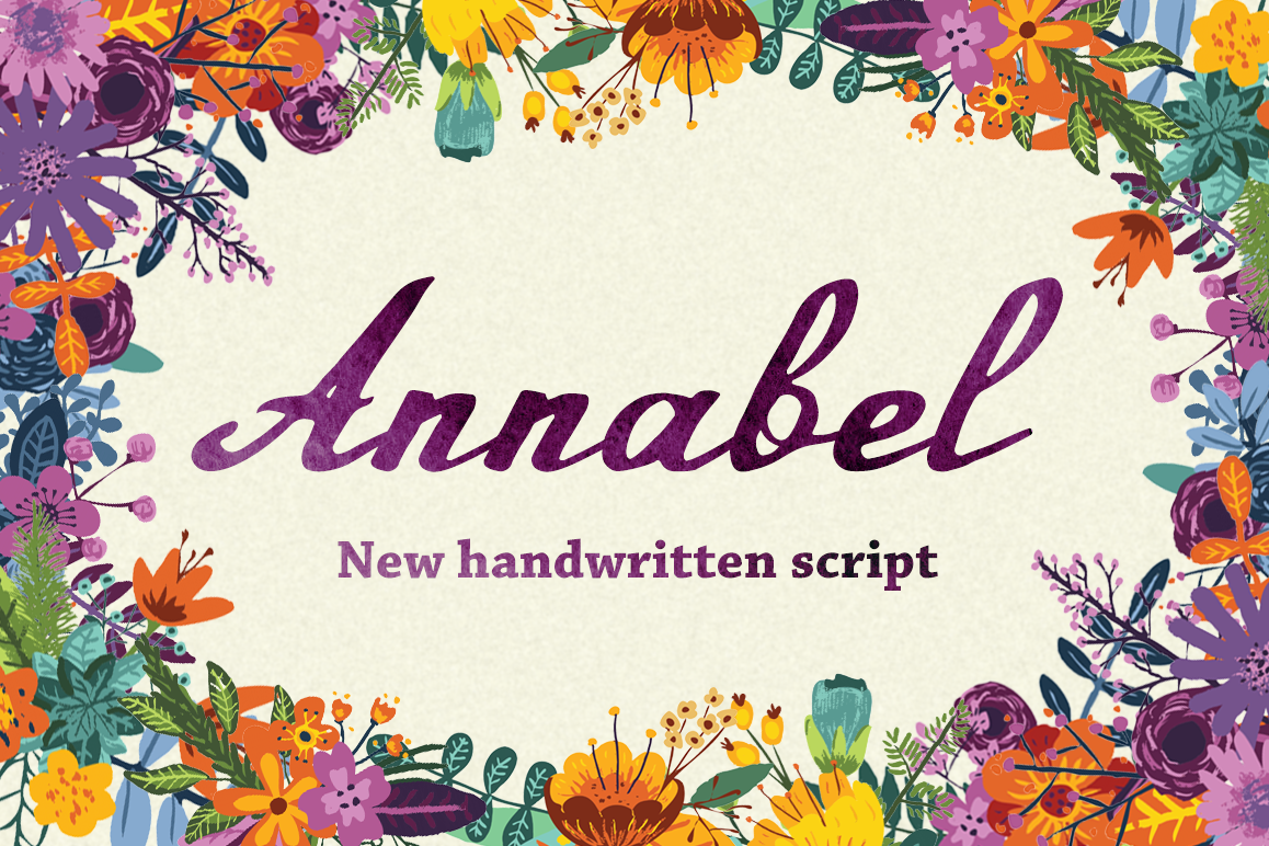 Annabel Script Typeface example image 1